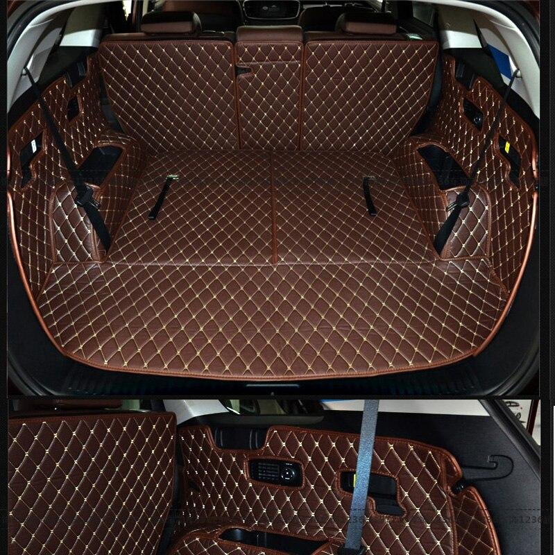 Коврики для багажника автомобиля под заказ для KIA Sorento, 7 сидений-прочные коврики для багажника для оформления Sorento