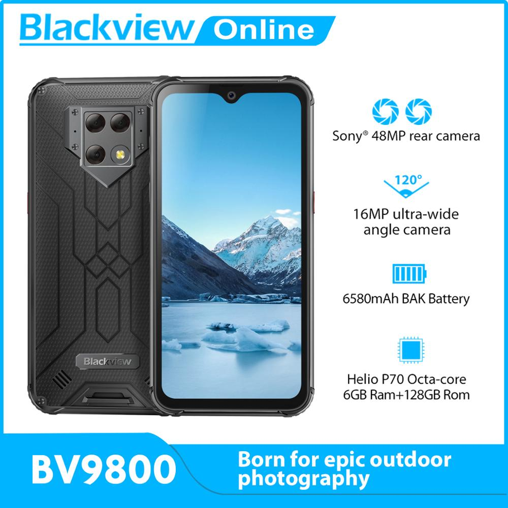 Blackview BV9800 6GB 128GB GSM/CDMA/LTE/WCDMA Wireless Charging Octa Core Fingerprint Recognition/face Recognition