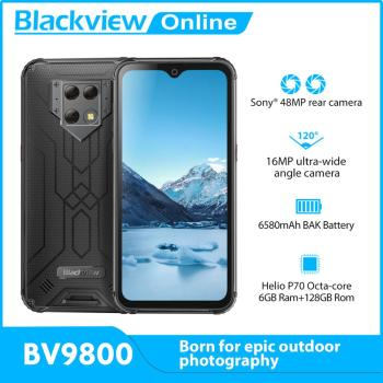 Blackview BV9800 6GB+128GB IP68 Rugged Smartphone 6.3