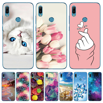 6.09'' For Huawei Y6 2019 Case Silicon Soft TPU Phone Case For Coque Huawei Y6 2019 Case Cover Y 6 2019 6Y Fashion Slim Fundas image