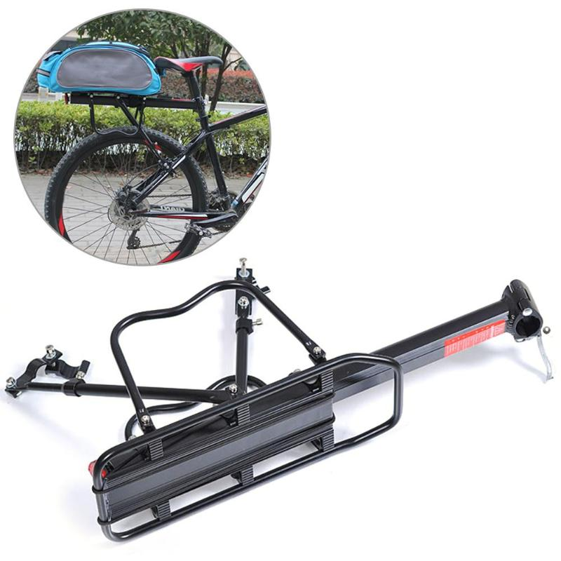 carrier pannier racks mtb bike rear shelf bicycle rear seat luggage carrier cycling back rack n s7 needcosmetice