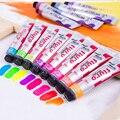 8 цветов  набор металлических акриловых красок  ручная краска  набор пигмента  текстильные краски  цветные товары для рукоделия  рисования с...