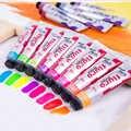 8 couleurs ensemble de peinture acrylique métallique peint à la main peinture Pigment ensemble peinture Textile Art coloré fournitures dessin mural