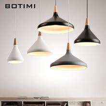 BOTIMI 北欧レトロペンダントライトダイニングキッチン Lampadario ヴィンテージ金属ランプ屋内 Luminaria 照明器具