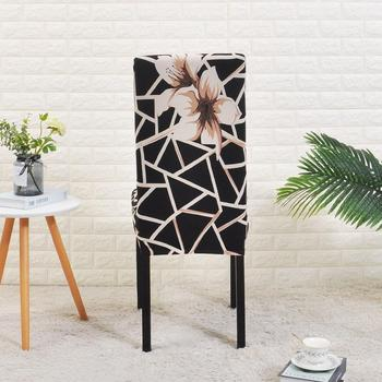 Spandex Black Chair Cover For Dining Room 2 Chair And Sofa Covers