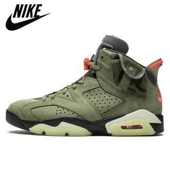 Authentic Nike Air Jordan Retro 6 Original Men's Basketball Shoes Sports Sneakers Trainers Size 7-13