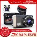 VVCAR D530 Видеорегистраторы для автомобилей Камера 4K и 1080P видео Регистраторы WI-FI Скорость N GPS видеорегистратор Даш Cam Автомобильный регистрато...