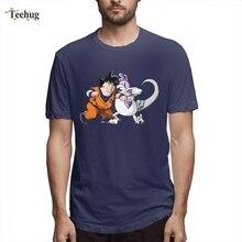 Fat Goku Dragon Ball Tees Custom Male Casual 3D Print Round Neck T Shirt For Boy