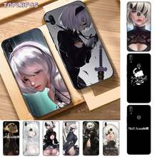 TOPLBPCS Anime nier automata black Phone Case Hull for Vivo Y91C 31 53 19 11 17 81 55 66 69 71 V11 i 9 7 67(China)