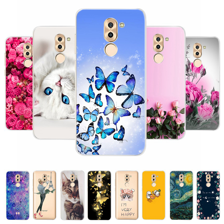 For Cover <font><b>Huawei</b></font> <font><b>Honor</b></font> 6X Case <font><b>Huawei</b></font> Mate <font><b>9</b></font> <font><b>Lite</b></font> Case 5.5 Soft Silicone <font><b>TPU</b></font> Phone Cases For <font><b>Huawei</b></font> <font><b>Honor</b></font> 6X GR5 2017 Back Cover image