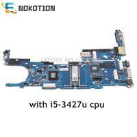 NOKOTION 702849 001 702849 501 702849 601 For HP EliteBook Folio 9470M 6050A2514101 MB A02 Laptop motherboard i5 3427u onboard