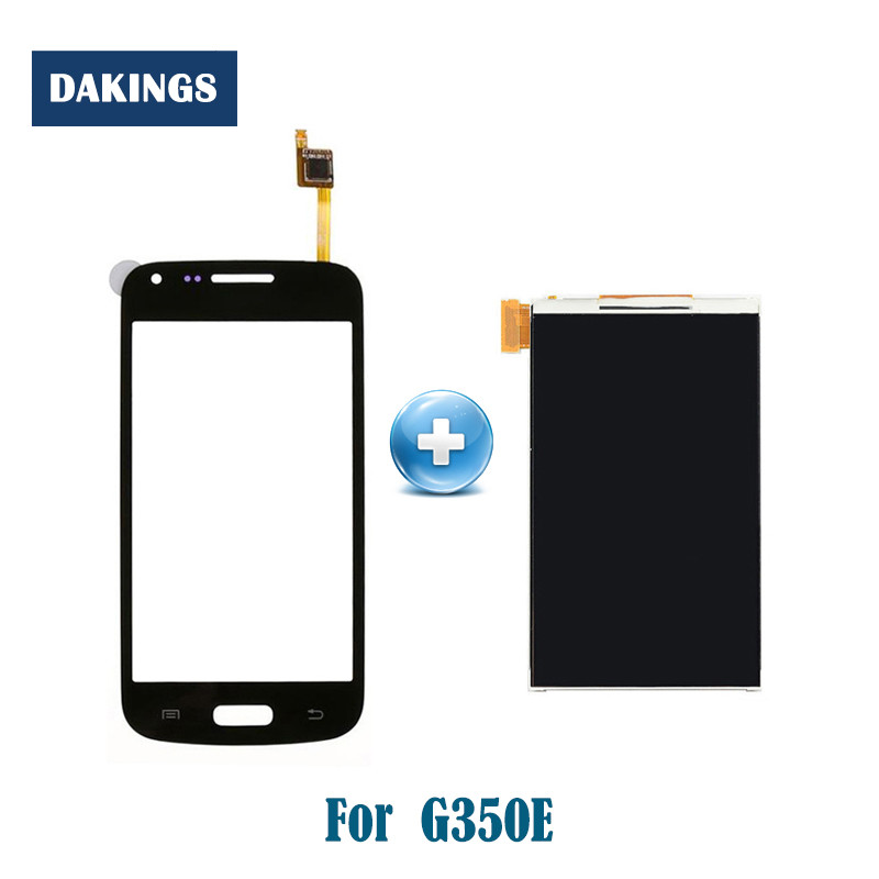 AAA Quality Tested 4.3 Inch LCD <font><b>Screen</b></font> for <font><b>Samsung</b></font> Galaxy Star 2 Plus SM-<font><b>G350E</b></font> <font><b>G350e</b></font> LCD Display with Touch <font><b>Screen</b></font> Assembly image
