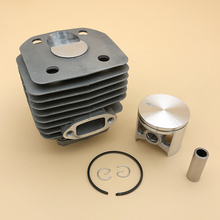 HUNDURE 48mm Nikasil Cylinder Piston Kit For 262XP 261 262 Husqvarna Chainsaw Spare Parts 503541171 45mm cylinder piston clutch drum air filter kit for husqvarna 51 55 rancher chainsaw motor spare parts