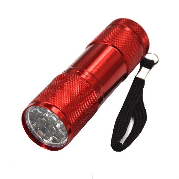 1 STK Bil r134a R410 R12 bilreprimeringsværktøj 9 LED UV-violet - Bilreservedele - Foto 6