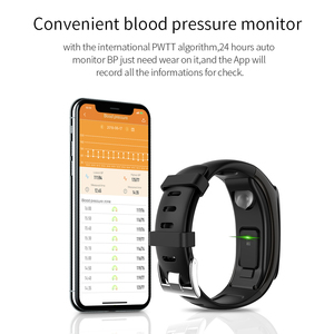 Image 3 - TB02 Smart Armband Bluetooth Kopfhörer 2 in 1 Wireless Headset Noise Reduction Herz Rate Blutdruck Monitor IP67 Wasserdicht