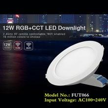 Светодиодный потолочный светильник 12 Вт rgb + cct 220 В переменного