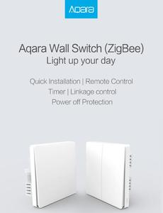 Image 5 - Aqara Wall switch Zigbee Wireless switch Key Smart Light Control single Fire No Neutral by Smart Home APP or Homekit Remote