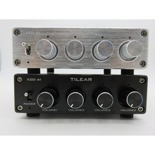 1 ingresso 4 uscita amplificatore distributore Audio RCA Splitter Audio senza perdita NE5532 amplificatore operazionale con amplificatori di controllo del Volume del tono