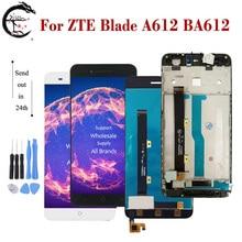 "5 ""LCD สำหรับ ZTE ใบมีด A612 BA612 LCD จอแสดงผล TOUCH SENSOR Digitizer ASSEMBLY A612 เต็มจอแสดงผลเปลี่ยน"