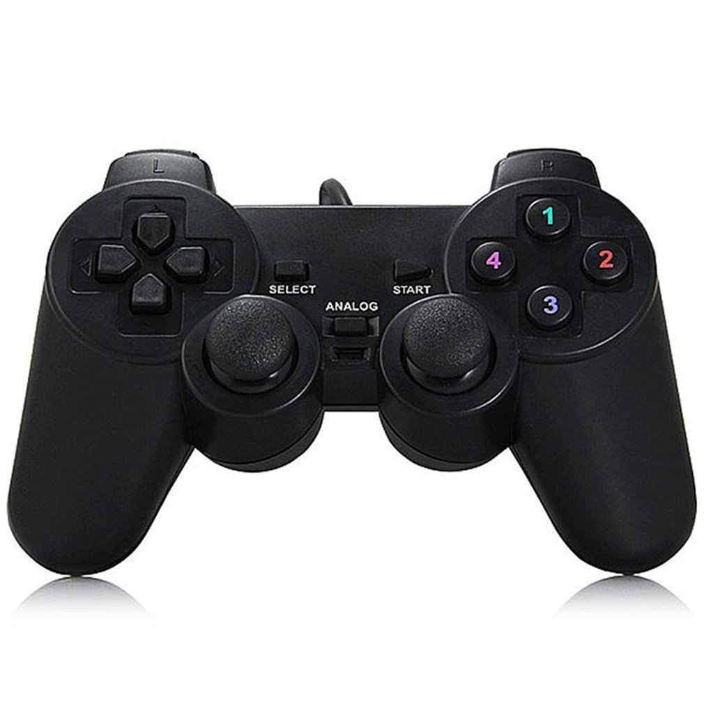 2019 Baru Gamepad Joystick USB2.0 Shock Joypad Gamepad Game Controller untuk PC Laptop Komputer Win7/8/10/ xp/VISTA