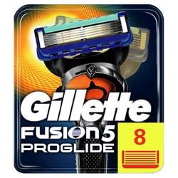 Hojas de afeitar reemplazables para hombres Gillette Fusion ProGlide 5 hojas de afeitar 8 Uds casetes de afeitado fusión cartucho de afeitado