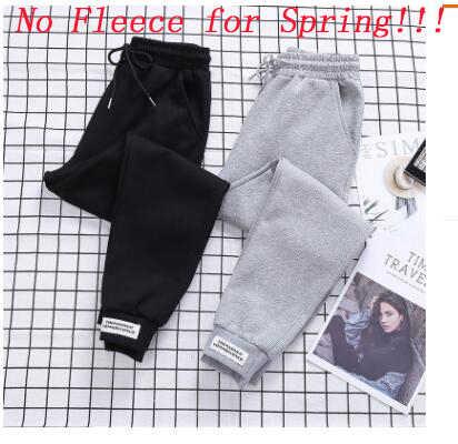 Женские свободные штаны, повседневные хлопковые брюки с карманами и высокой талией, тонкие осенние штаны для отдыха, оптовая продажа, WBX9913