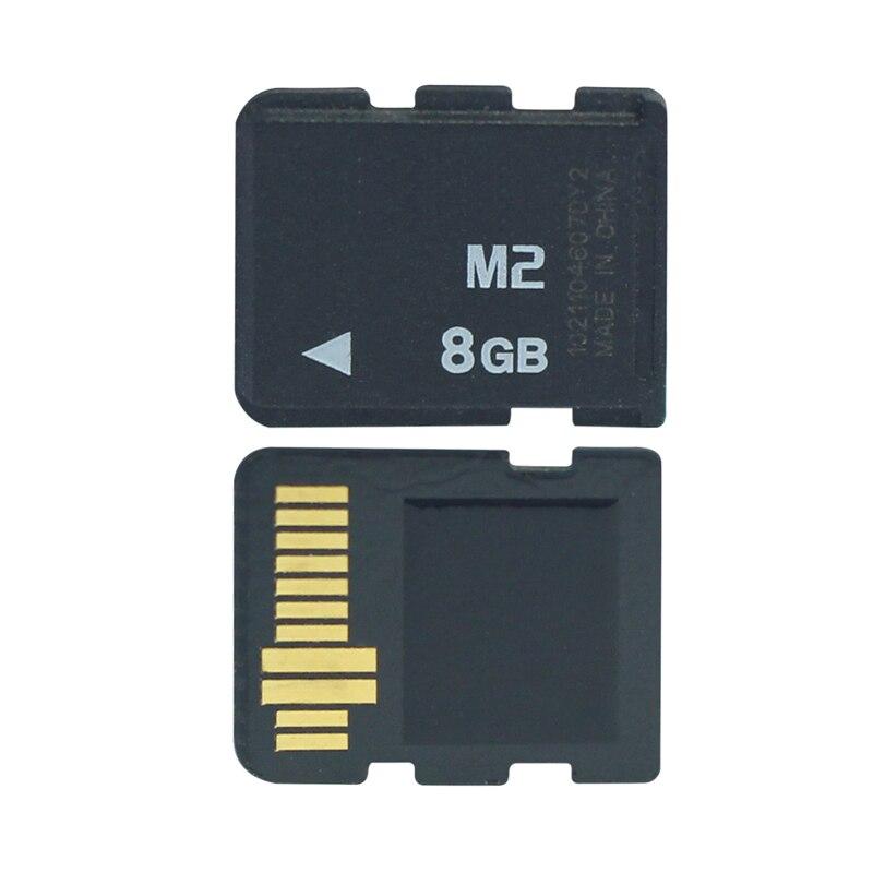 Förderung! 1GB 2GB 4GB 8GB M2 Speicher Karte Memory Stick Micro Mit Adapter MS PRO DUO Für kamera Telefon M2 Speicher Karte