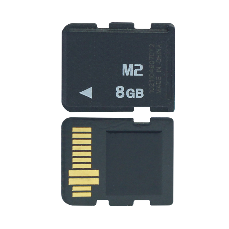 Promotion 1GB 2GB 4GB 8GB M2 Memory Card Memory Stick Micro With Adapter MS PRO DUO For Camera Phone M2 Memory Card