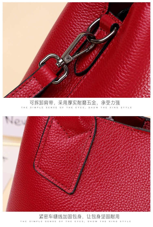 حقيبة يد حقيبة يد امرأة من الجلد الأصلي انفصال Crossbody حزام حقيبة صغيرة حقيبة يد الرمز البريدي إغلاق جيوب متعددة الوظائف رفرف