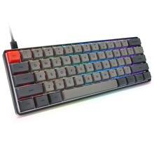 Проводная Механическая клавиатура со светодиодной rgb подсветкой