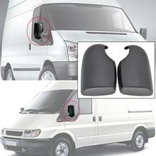 Lusterko zewnętrzne pokrywa CAP sterowników prawego pasażera z lewej strony dla FORD TRANSIT MK6 MK7 2000 2001 2002 2003 2004 2005 2006 2007