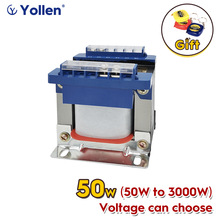 BK Series 50W Control Transformer BK-50VA Power Voltage Can Customized 220V/380V to 6V/9V/12V/15V/18V/24V With Quick Terminal