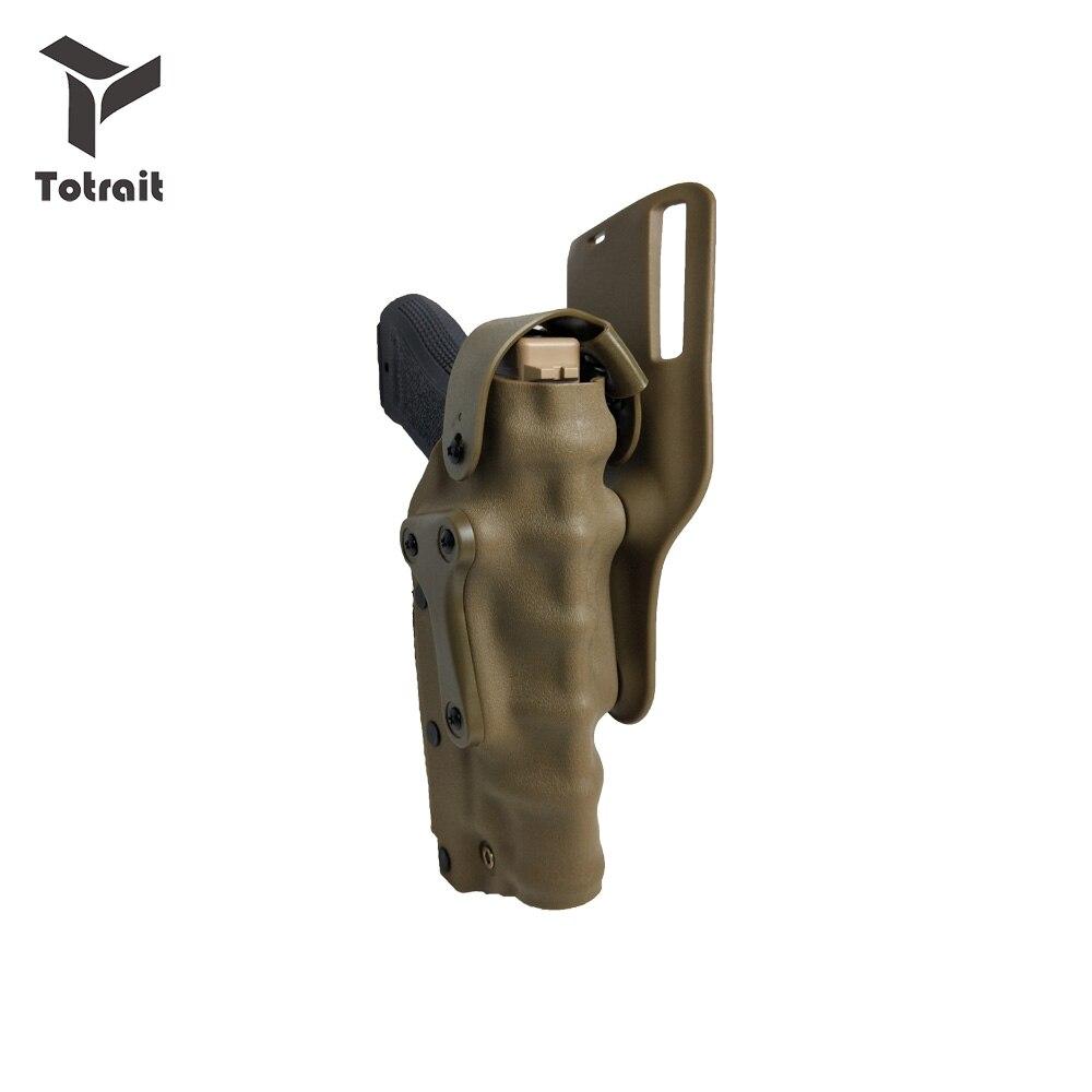 Funda de Pistola 3280 Pistola táctica Safariland funda de cintura de combate se adapta al cinturón izquierdo derecho para GL 17 Colt 1911 92 USP sign Sauer P226