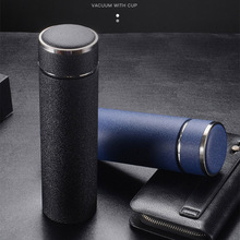 500ml Business Thermos Bottles Tea Infuser Stainless Steel Tumbler Insulated Water Cup Portable Vacuum Flask Coffee Mug Men Gift