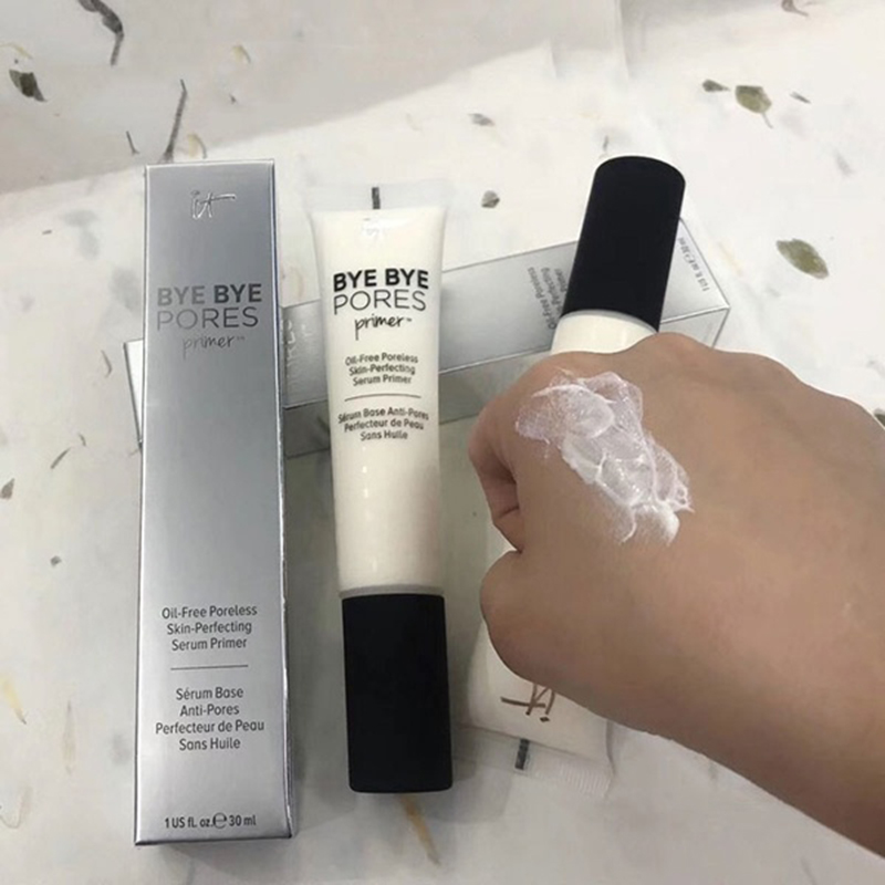 Makeup Primer Cream Bye Bye Pores Moisturizing Hydration Oil-Control Eyes Skin Brighten Make Up Base It Cosmetics image