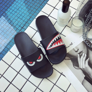 ASIFN Men Slippers Summer Beach Male Slides Women Non-slip Flip Flops Striped Style Outdoor Indoor Sandals for Couple Soft(China)