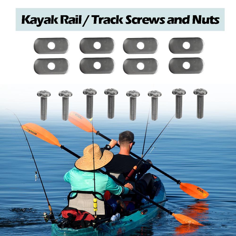6x Cap and Gasket for Flush Mount Rod Holders Fishing Kayak Canoe Boat