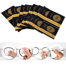 Lingette de nettoyage pour lentilles jetables | 30 pièces/boîte Anti-brouillard, polissage des verres, livraison directe