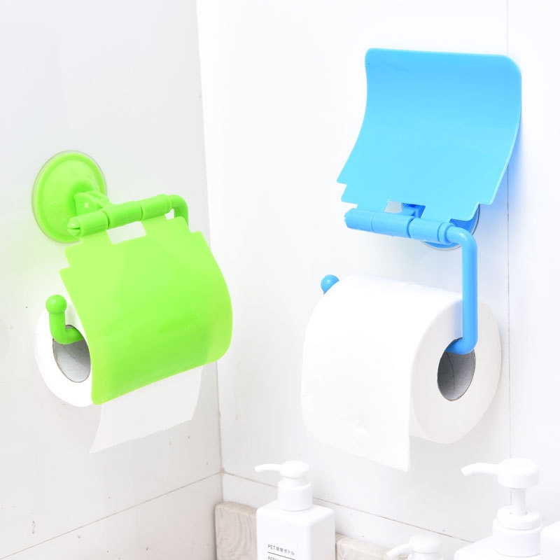 5 Colors Household Roll Stand Bathroom Rack Paper Holder Tissue Portable Kitchen Living Room Toilet