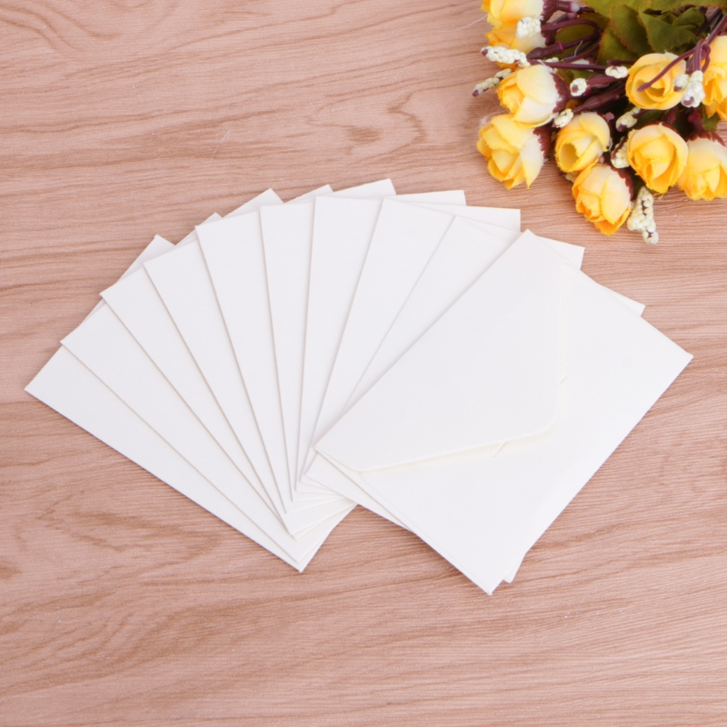 50pcs/lot Craft Paper Envelopes Vintage European Style Envelope For Card Scrapbooking Gift 3