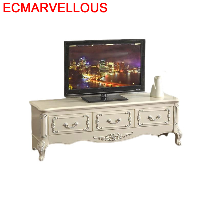 Furniture Lemari Led Wood De Sehpasi Painel Madeira Para Soporte European Wodden Monitor Stand Mueble Table Meuble Tv Cabinet