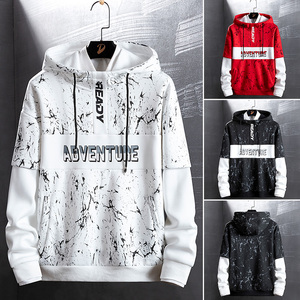 Image 2 - SingleRoad Mens Hoodies Men Women Autumn Camo Sweatshirt Men Hip Hop Harajuku Japanese Streetwear Black Hoodie Sweatshirts Male