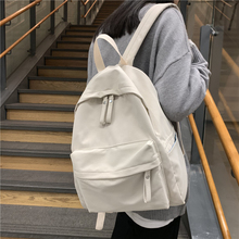 Simple Classic Designe Cotton Women Backpack School Student Book Bag Leisure Travel Young Backbags for school girls boys 2020