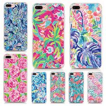For ZTE Blade V9 V10 Vita A7 A5 A3 2019 L8 N3 A530 A606 Silicone Case Print Summer flower Cover Coque Shell Phone Cases(China)