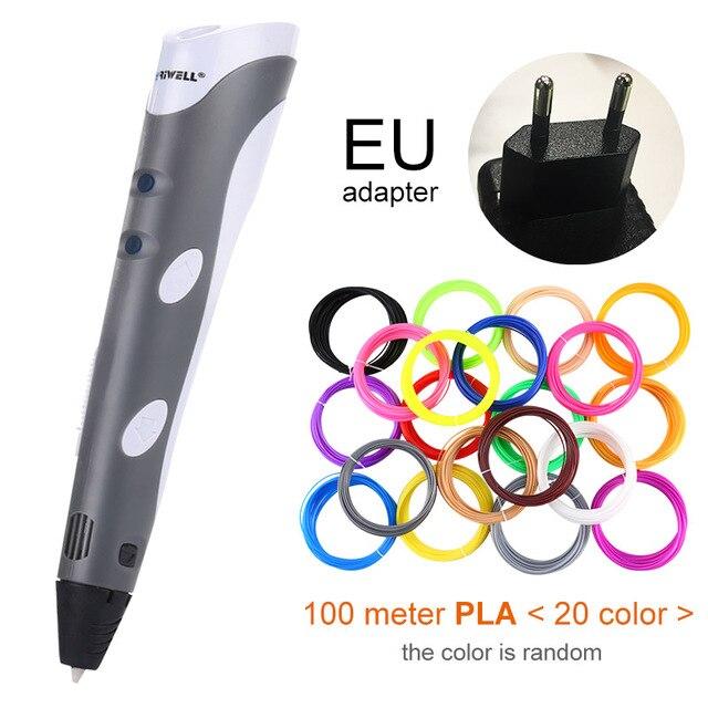Grey EU-100m PLA