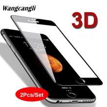 2Pcs/Set 3D glass protective film for iPhoneX XS HD screen protector transparent hard glass film full screen tempered glass film цена