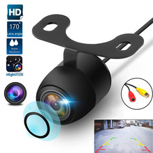 170 ° tylna kamera samochodowa Night Vision 12V Backup Parking odwrotna kamera samochodowa IP68 wodoodporna 170 szerokokątny kolor HD obrazu