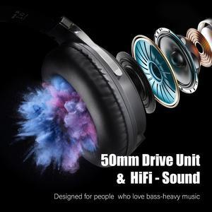 Image 3 - Oneodio auriculares de alta fidelidad para estudio, por encima de la oreja, con cable de sonido de alta definición, con micrófono, estéreo, para teléfono y guitarra