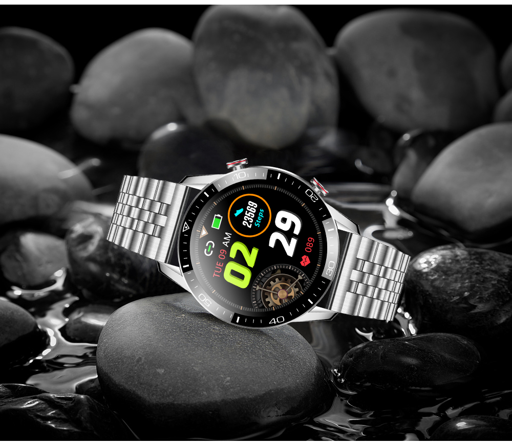 H8856d9702f464b799041faf155e90c4ae New Smart Watch Men Bluetooth Call TK2-8 IP68 Waterproof Heart Rate Blood Pressure SmartWatch Fitness Tracker Sports Android IOS