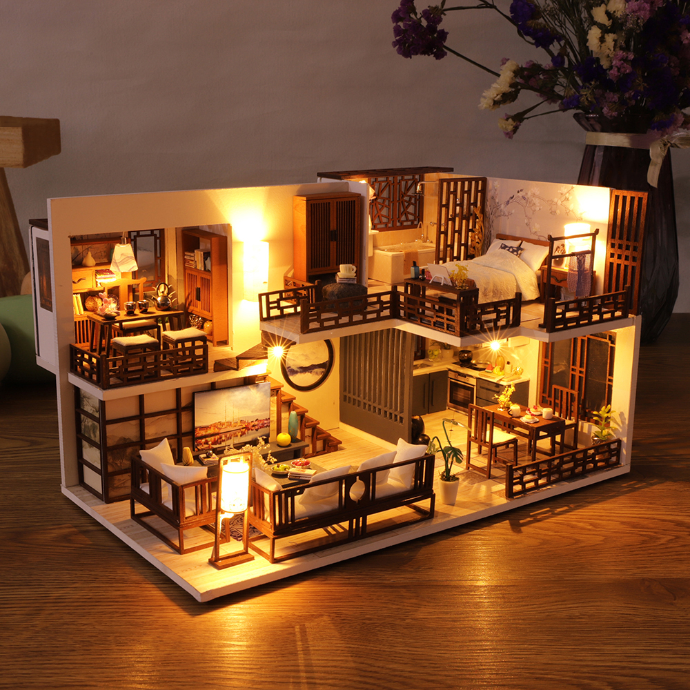 Quiet Time DIY Miniature House Kit M025